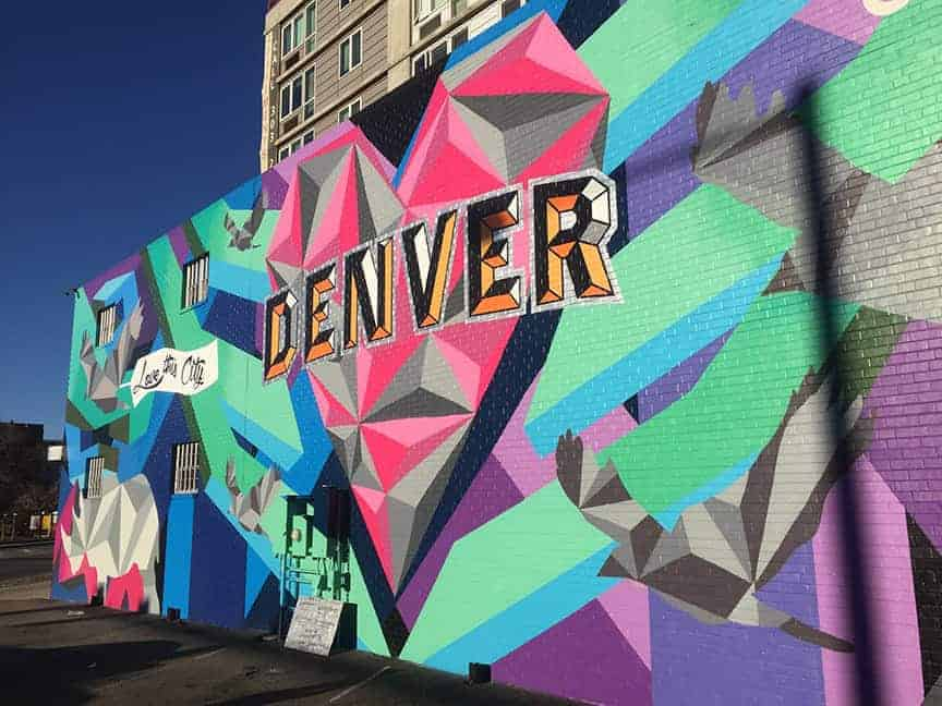 Denver Mural, Visit Denver, Love this City, Mural, Rino Arts District, Denver, Colorado, Jason T Graves 2016