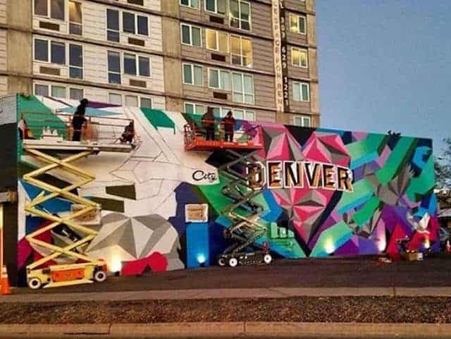 Denver Mural, Visit Denver, Love this City, Mural, Rino Arts District, Denver, Colorado, Jason T Graves, SoGnar Creative Division, 2016