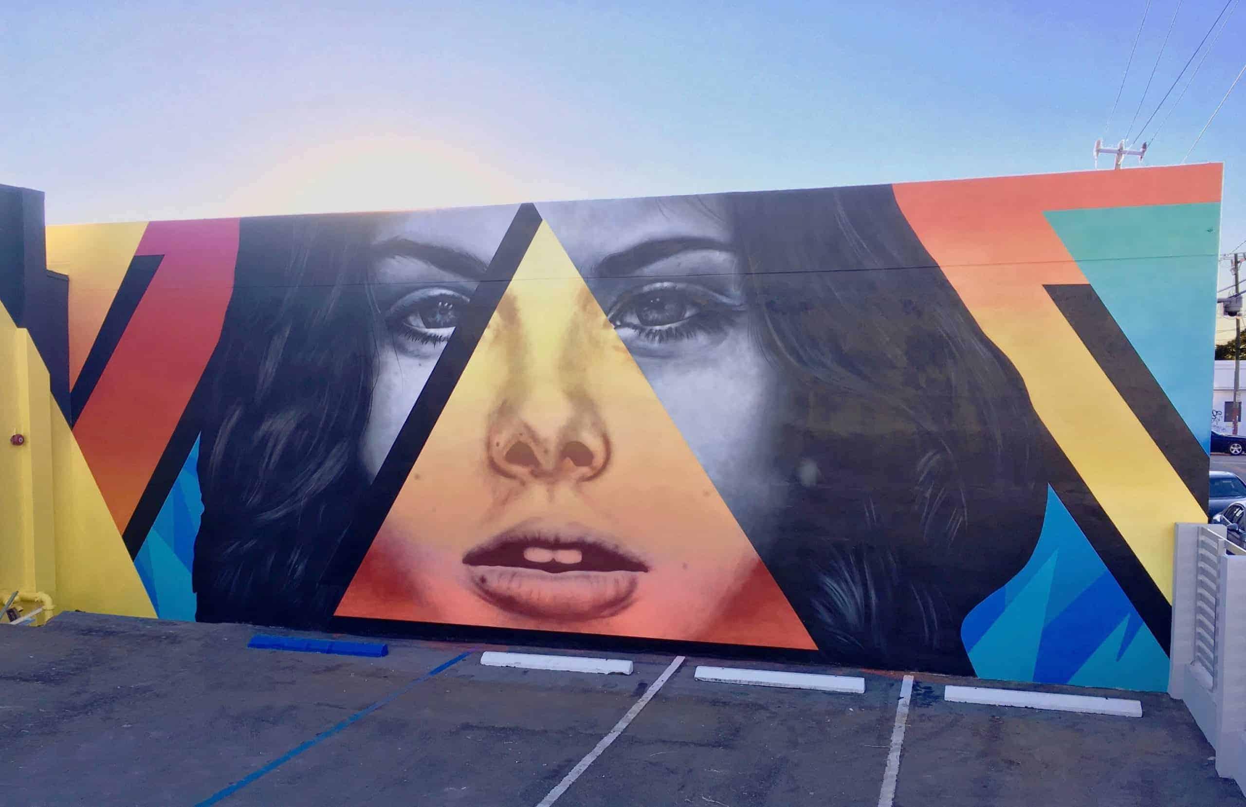 Street Art, Wynwood Walls, Murals, Miami, Art Basel, 2017