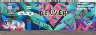 Denver Mural, Visit Denver, Love this City, Mural, Rino Arts District, Denver, Colorado, Jason T Graves, SoGnar Creative Division, 2016