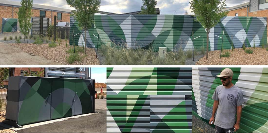 Westfield Co. Murals, Denver, 2018