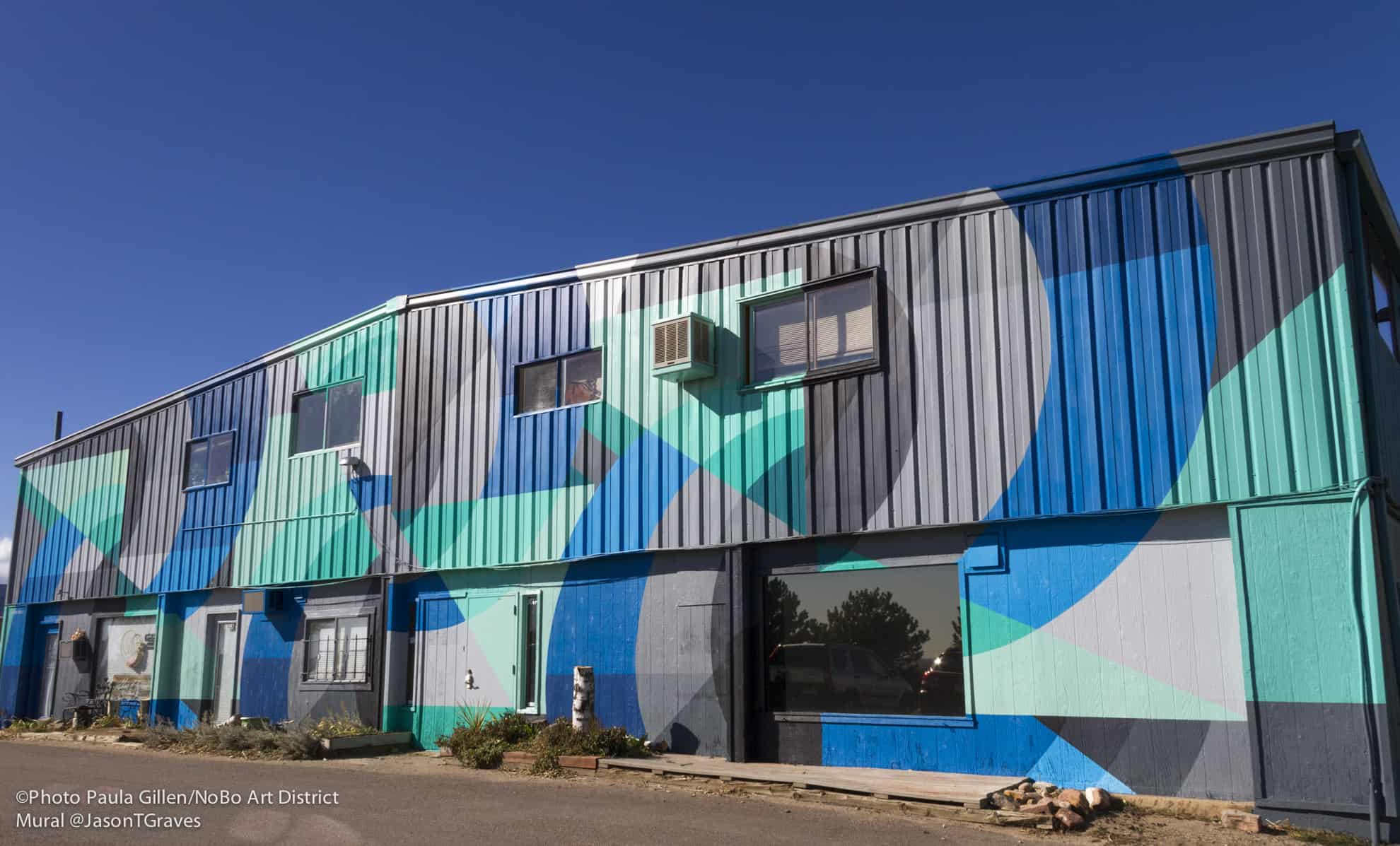 North Boudler Art District, NoBo, Welcome Mural, Jason T. Graves, 2019