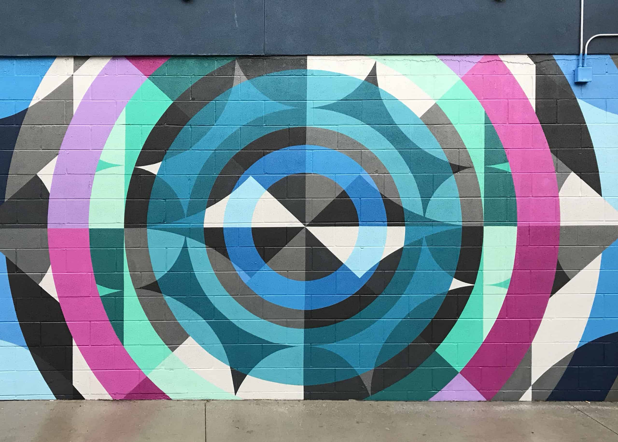The Crush Walls Mural Festival Denver Colorado, Public Art, Street Art, 2018. Jason T. Graves