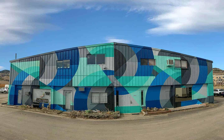 Boulder, Colorado, Public Art, Street Art, Murals, Jason T. Graves, NoBo Art District,