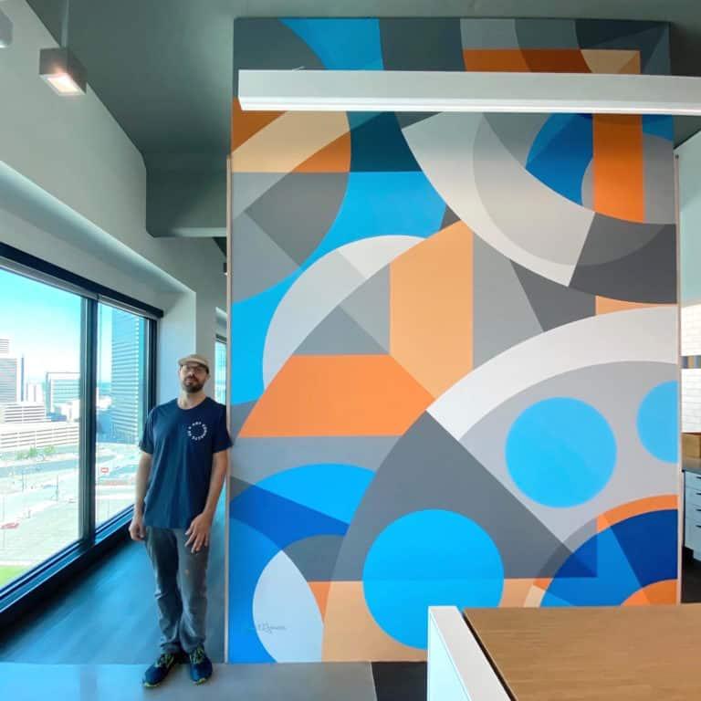 Jason T. Graves, Denver Murals, Interior Design, Street Art