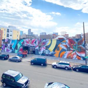 Jason T. Graves, Remington Robinson  Crush Walls Mural Festival, 2020