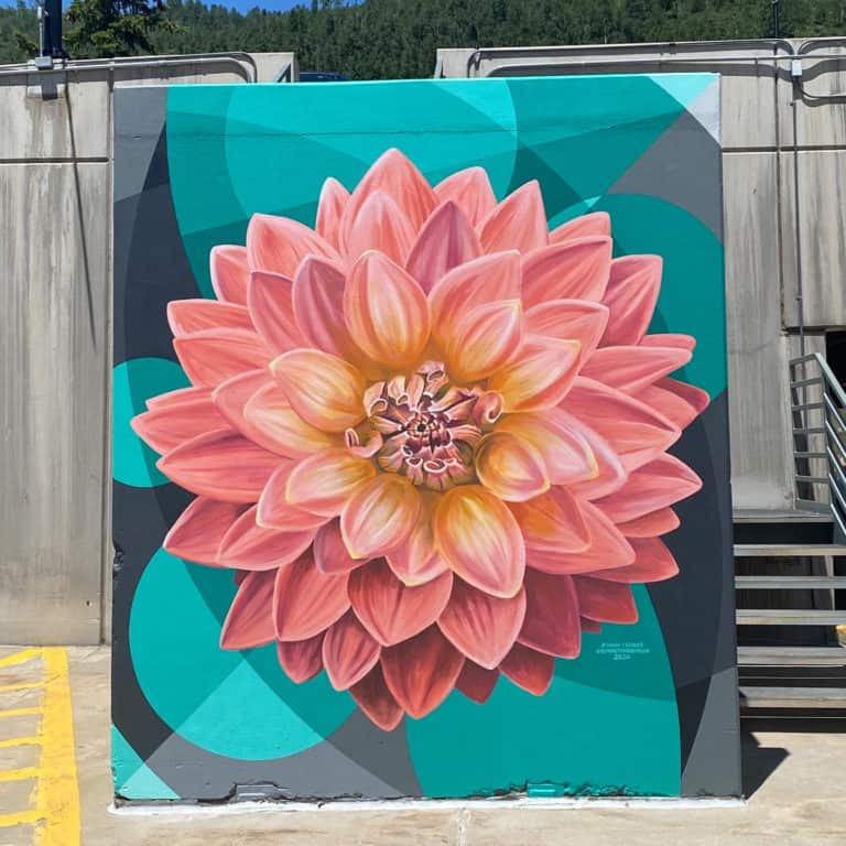 Art in public places mural by artists Jason T. Graves and Remington Robinson for the City of Vail