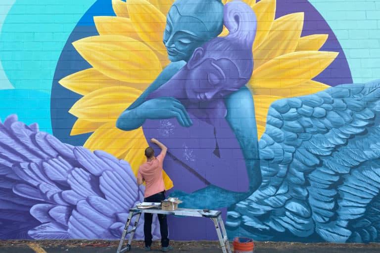 Jason T. Graves, Boulder Murals, Street Art, City of Boulder, Creative neighborhoods