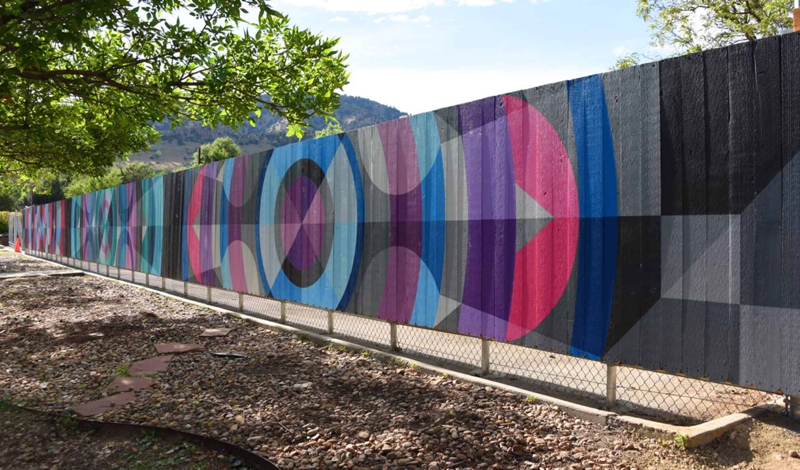 JasonT.Graves,Boulder,Murals,Street Art,Fence,Boulder Community Hospital