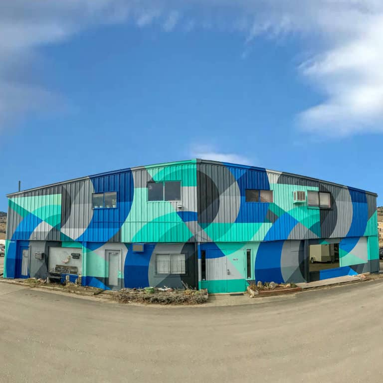 Jason T. Graves mural for the city of Boulder Colorado. Street Art, painted for the NoBo Art District.