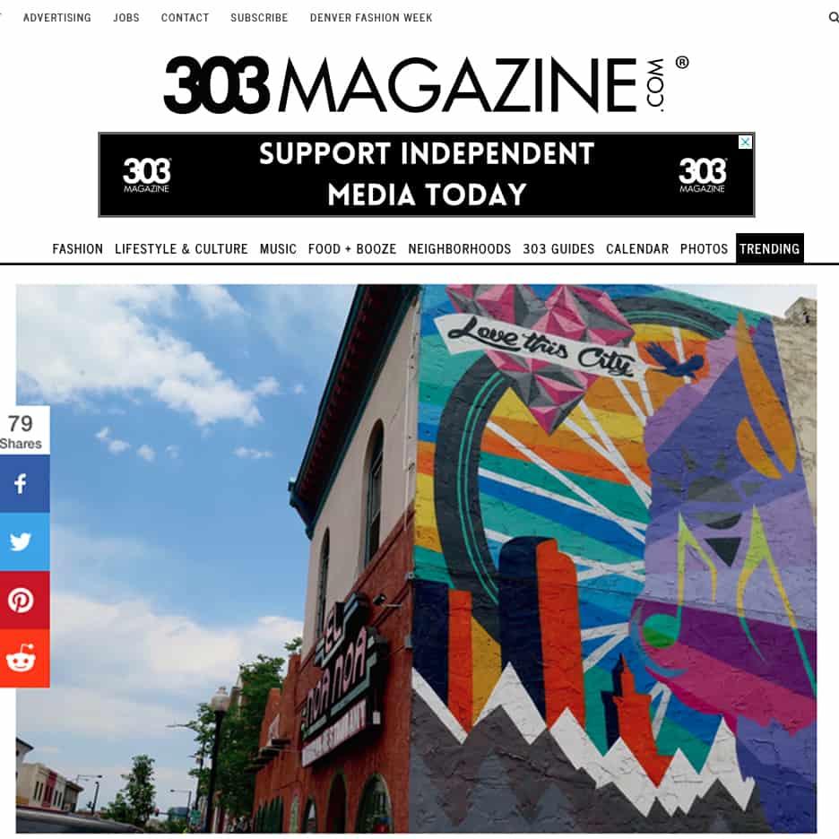 303 magazine Street Art feature