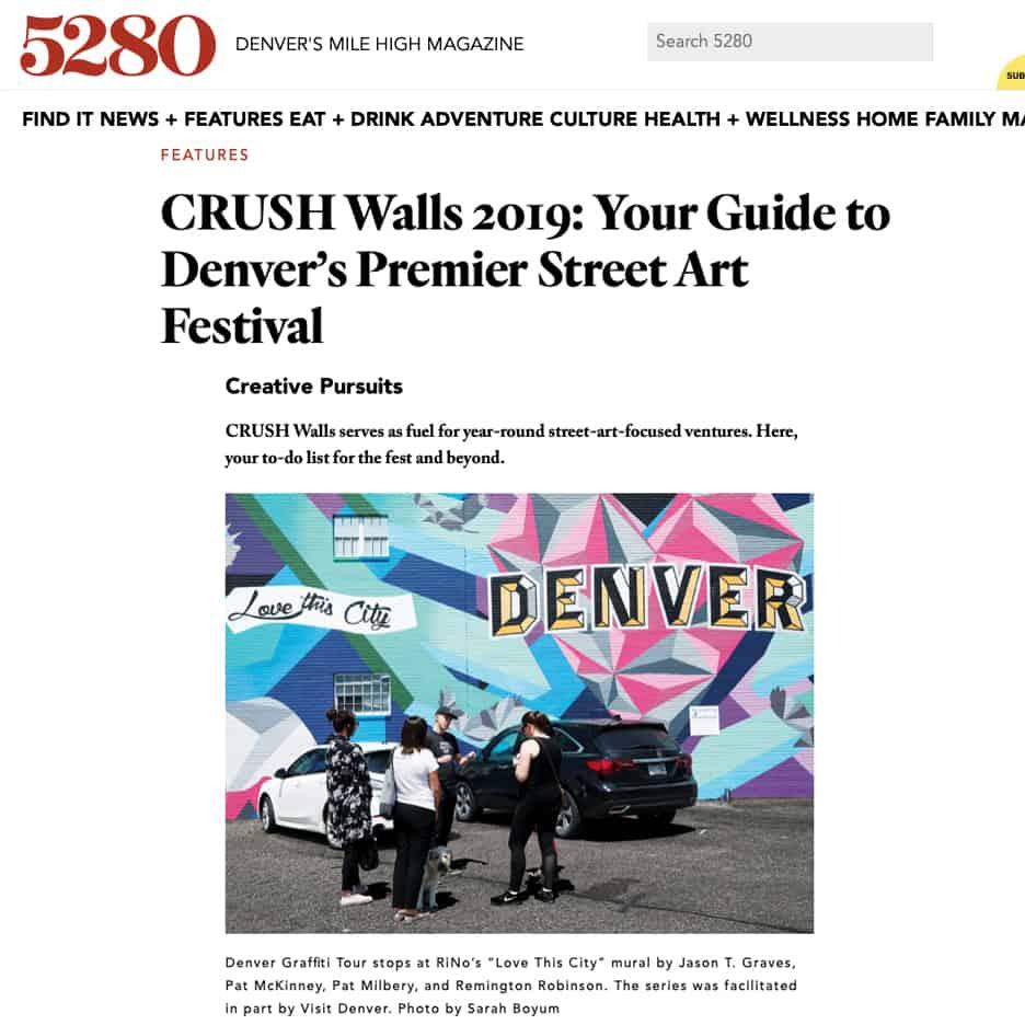 CRUSH Walls 2019: Your Guide to Denver's Premier Street Art Festival