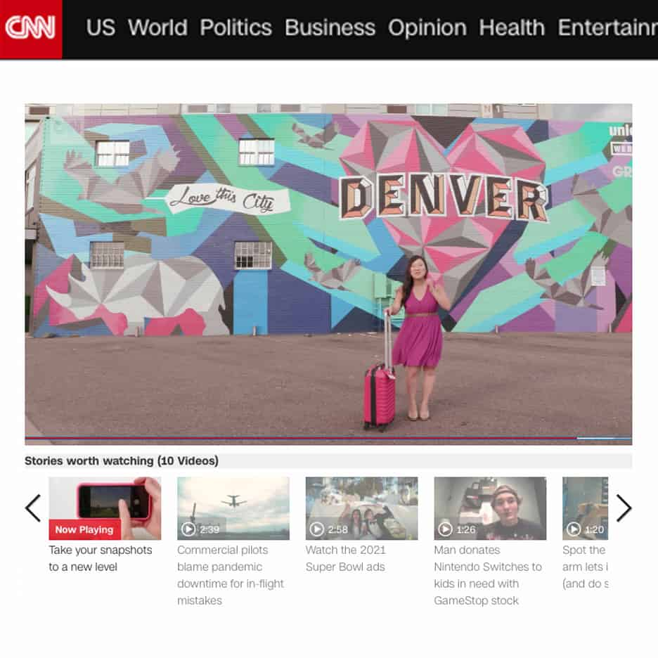 CNN features mural by Jason T. Graves