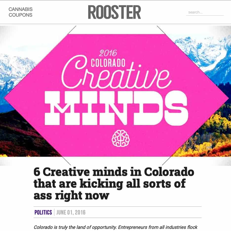 6 Creative minds in Colorado that are kicking all sorts of ass right now