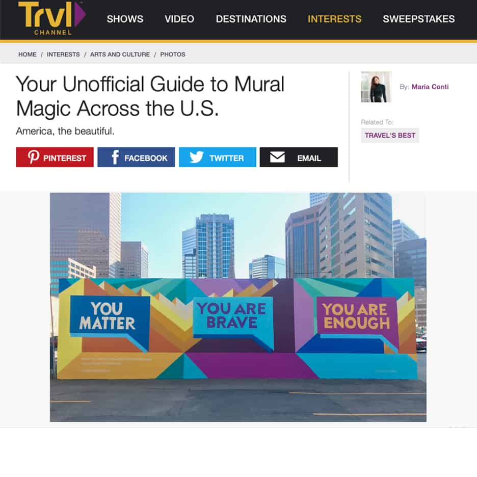 Travel Channels, Your Unofficial Guide to Mural Magic Across the U.S.