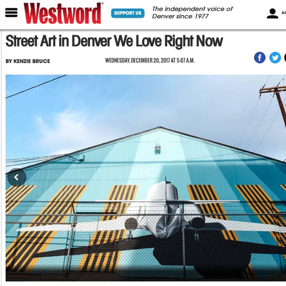 Denver street art featured in Westword magazine