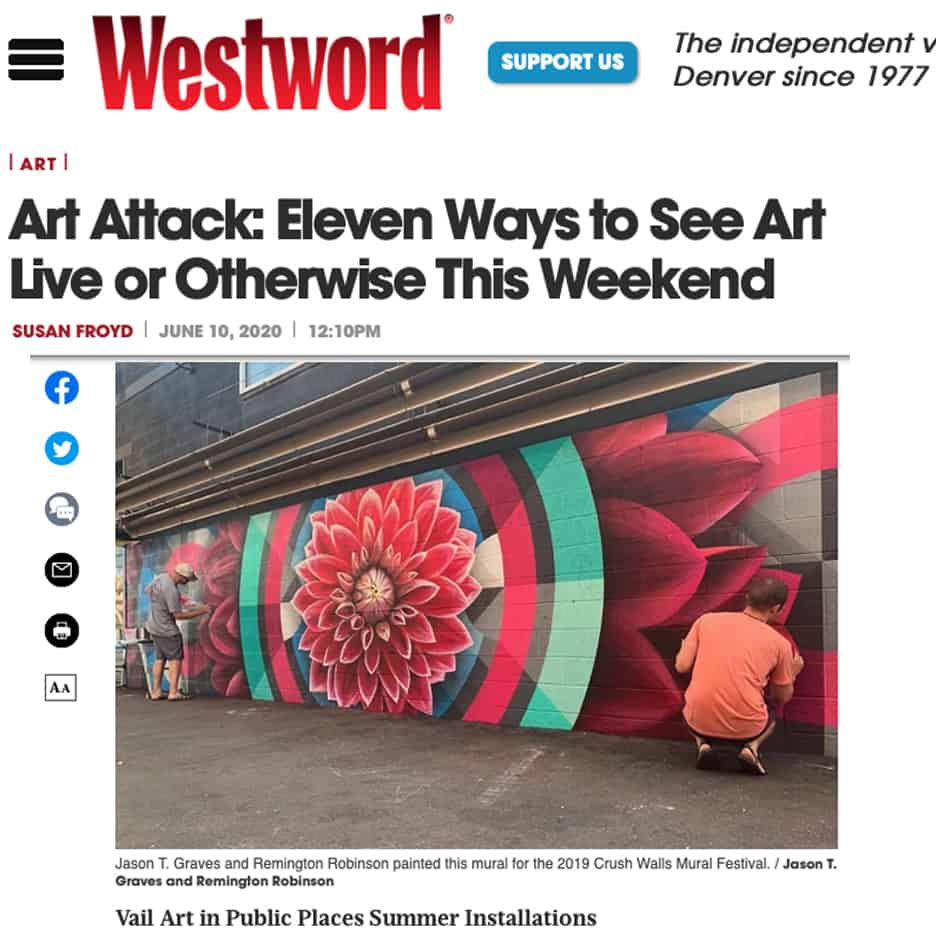 Art Attack: Eleven Ways to See Art Live or Otherwise This Weekend